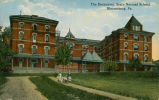 The Dormitory, State Normal School, Bloomsburg, Pa.