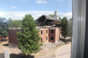 Russell Hall demolition