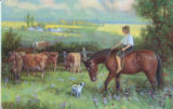 PC: Boy on a Horse Herding Cows
