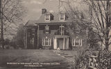 President's Residence, State Teachers College, Millersville, PA., 1955